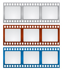 film strip frame banner