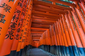 京都伏見稲荷の千本鳥居