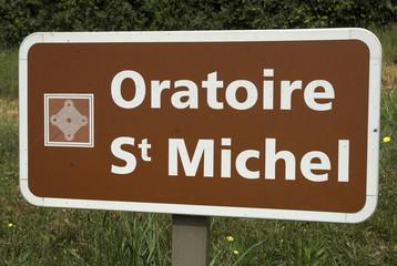 Oratoire Saint Michel, Le Gros Chigy, 71,saone et loire