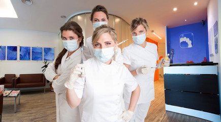 Female dentists