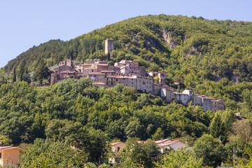 Villaggio di montagna abruzzese