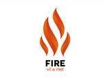 Fire Flame vector logo design vector template - 69888301