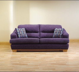 sofa in modern living room