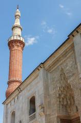 Yesil Camii (Green Mosque) in the center of Bursa