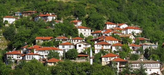 Beautiful view of Goynuk town, Bolu