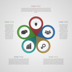 Template for your business presentation (info graphic)
