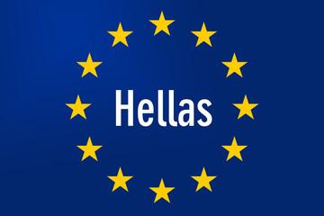 Europe Sign: Greece