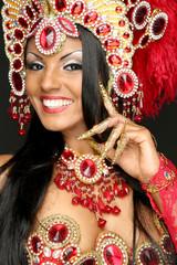 Brasilianische Tänzerin