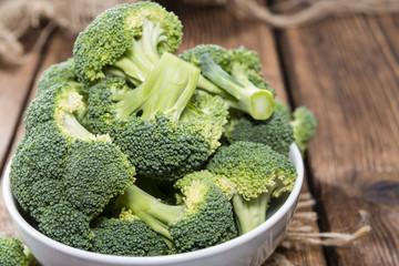 Portion of Raw Broccoli