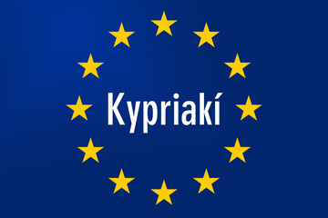 Europe Sign: Cyprus