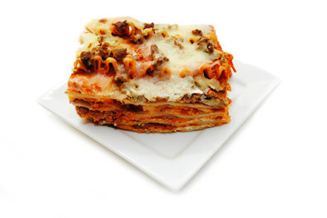 A Delicious Meal of Meaty, Cheesy Lasagna