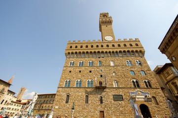 Firenze Piazza della Signoria Palazzo Vecchio