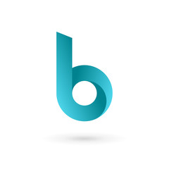 Letter B logo icon design template elements.