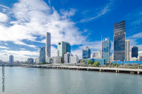 Foto op Aluminium Australië Skyline Brisbane