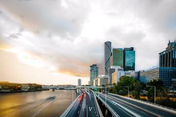 Brisbane - Busy City