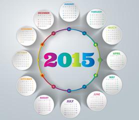 2015- Rainbow Calendar