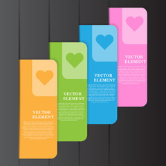 Vector Illustration, Abstract Banner for Creative Work