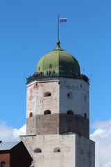 Tower of Vyborg Castle.