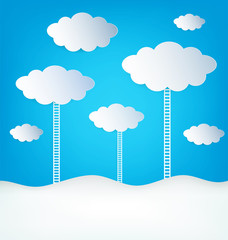 Abstract Design Clouds
