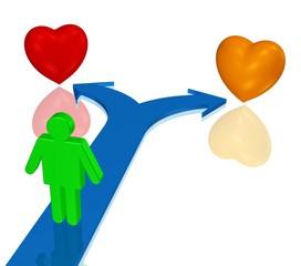 Entscheidung, Partnerwahl