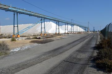 Salt works, Santa Pola, Alicante, Spain