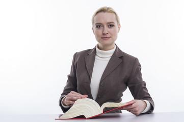 Erfolgreiche Geschäftsfrau