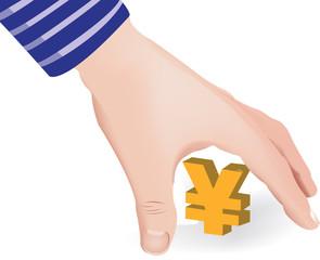 prelevare  lo yen