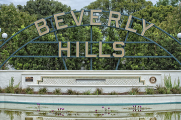 Beverly hills los angeles sign