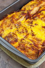Homemade Mexican Enchiladas