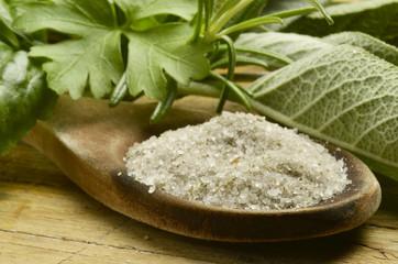 Sal de hierbas Sale alle erbe Herbal salt Sel à base de plantes