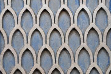 textured wall geometric pattern