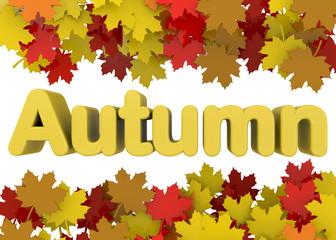 Autumn Season - 3D