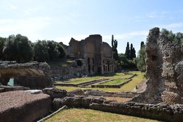 rovine romane di villa adriana