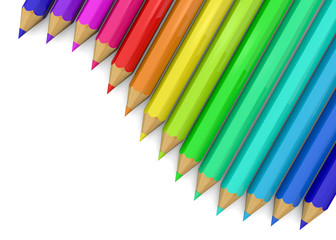 Colorful Pencil - 3D