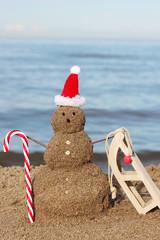 Weihnachtsurlaub am Meer