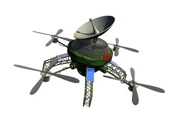Communicatie drone van defensie