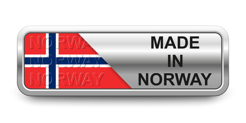 Made in Norway Button