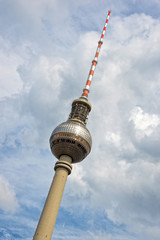 Berlin TV tower (Fernsehturm), Germany