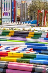 show jump poles 9919