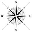 Obrazy na płótnie, fototapety, zdjęcia, fotoobrazy drukowane : Compass Rose