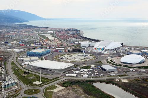 Papiers peints Ville sur l eau Sochi cityscape. Olympic Park
