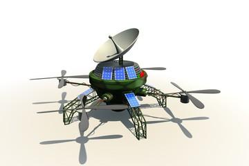 Drone van het leger - met schutkleur