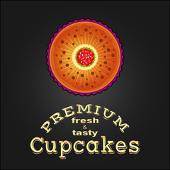 Sweet and tasty delicious food best cupcake