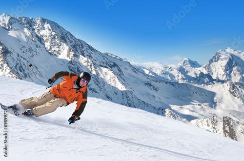 Papiers peints Glisse hiver sports d'hiver