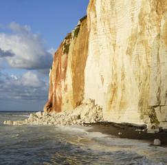 Errosion der Steilküste