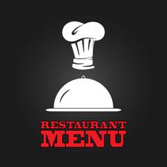Restaurant menu design poster. Vector