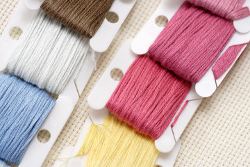Strand Embroidery floss cards