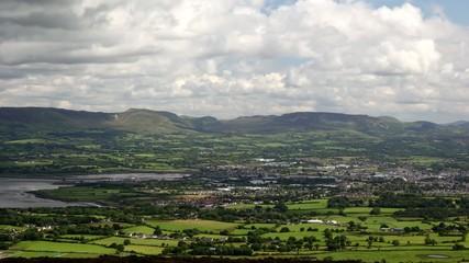 Ireland high angle view
