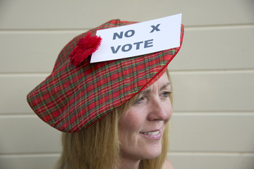 Scottish Referendam No vote from this female voter