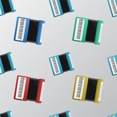 Vector background for accordion